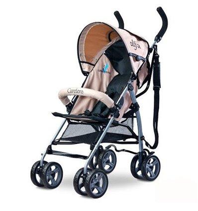 Детская прогулочная коляска Caretero Alfa Beige
