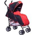 Детская прогулочная коляска Caretero Luvio Red