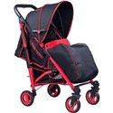Детская прогулочная коляска Caretero Sonata Red