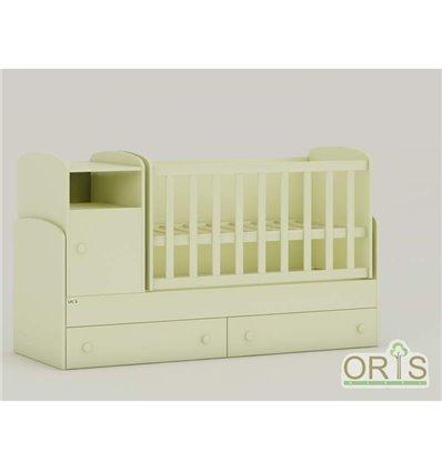 Детская кроватка-трансформер Oris Marica ваниль