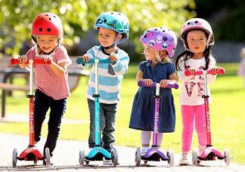 детский 3-колесный самокат купить в интернет магазине Украина