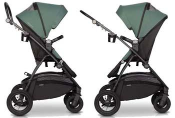Реверсивная детская прогулочная коляска