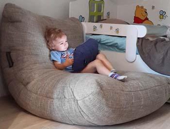 Бескаркасная мебель в детскую комнату