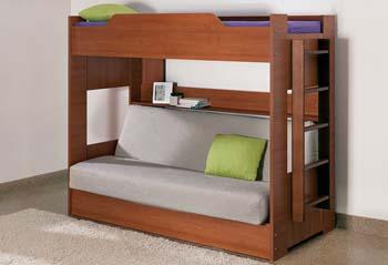 дитяче двоповерхове ліжко