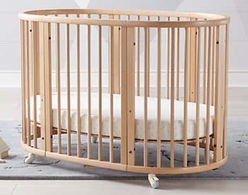 овальная кроватка купить