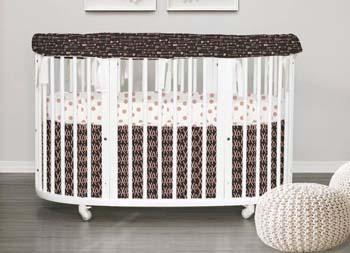 детская овальная кроватка