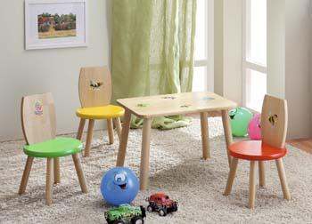 Столы и стулья в детскую комнату