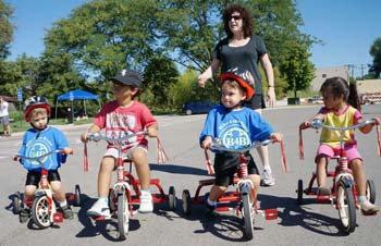 купить детский трехколесный велосипед